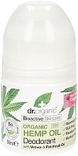 Düfte, Parfümerie und Kosmetik Deodorant mit Hanföl - Dr. Organic Bioactive Skincare Hemp Oil Deodorant