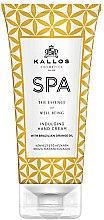Düfte, Parfümerie und Kosmetik Handcreme - Kallos Cosmetics SPA Indulging Hand Cream With Brazilian Orange Oil