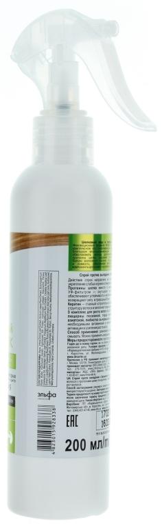 Anti-Schuppen Haarspray mit Keratin und Seidenproteinen - Dr. Sante Silk Care Spray — Bild N2