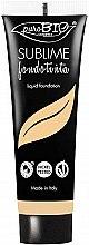 Düfte, Parfümerie und Kosmetik Anti-Aging Foundation mit hoher Deckkraft - PuroBio Cosmetics Sublime Foundation