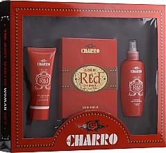 Düfte, Parfümerie und Kosmetik El Charro Red - Duftset (Eau de Parfum 100ml + Körpercreme 100ml + Deospray 100ml)