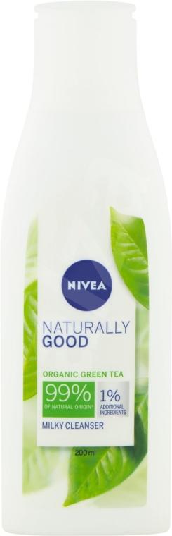 Gesichtsreinigungsmilch mit Bio grünem Tee - Nivea Naturally Good Green Tea Milky Cleanser