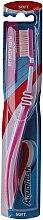 Düfte, Parfümerie und Kosmetik Zahnbürste weich rosa-weiß - Aquafresh Interdental