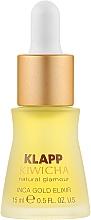 Düfte, Parfümerie und Kosmetik Elixir für Gesicht und Hals mit kostbarem Sacha Inchi-, Acai-Frucht- und Süßmandelöl - Klapp Kiwicha Inca Gold Elixir