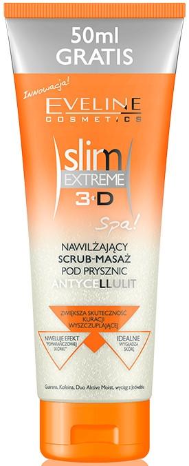 Feuchtigkeitsspendender Anti-Cellulite Körperscrub - Eveline Cosmetics Slim Extreme 3D  — Bild N1