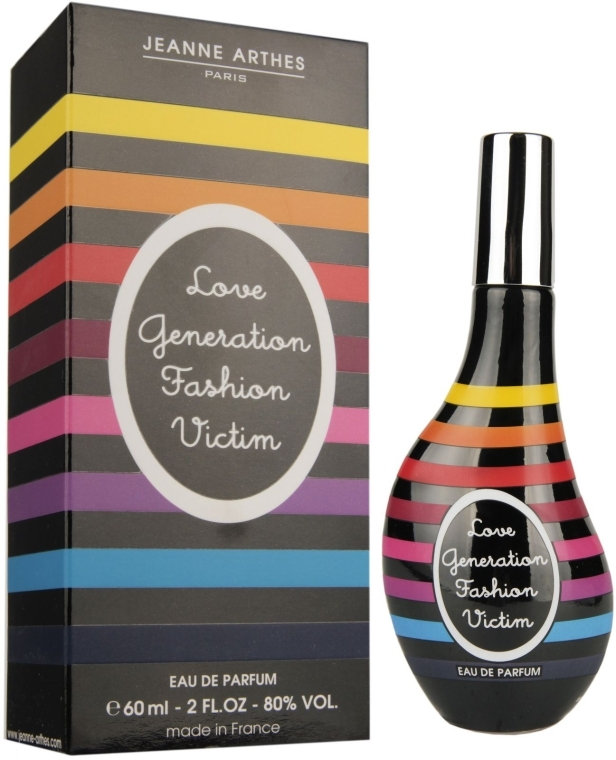 Jeanne Arthes Love Generation Fashion Victim - Eau de Parfum — Bild N1