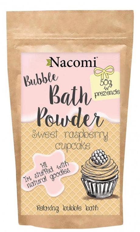Badepuder mit Himbeertörtchen Duft - Nacomi Sweet Raspberry Cupcake Bath Powder