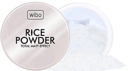 Reispuder für das Gesicht mit Matt-Effekt - Wibo Rice Powder
