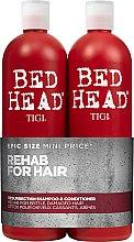 Düfte, Parfümerie und Kosmetik Haarpflegeset - Tigi Bed Head Resurrection Shampoo&Conditioner (Shampoo 750ml + Conditioner 750ml)