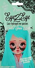 Düfte, Parfümerie und Kosmetik Hydrogel-Augenpatches mit Blaubeerextrakt - 7 Days Eye2Eye Hydrogel Patches