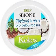 Düfte, Parfümerie und Kosmetik Universalcreme mit Kokosöl - Bione Cosmetics Coconut Skin Cream