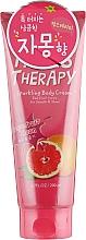 Düfte, Parfümerie und Kosmetik Erfrischende und glättende Körpercreme mit Grapefruitextrakt für strahlende Haut - Farms Therapy Sparkling Body Cream Grapefruit