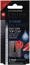 Schnelltrocknender Nagelüberlack mit Gel-Effekt - Eveline Cosmetics Nail Therapy Professional  — Bild N1