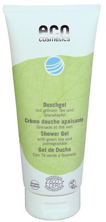 Duschgel mit grünem Tee und Granatapfel - Eco Cosmetics — Bild N1