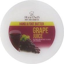 Düfte, Parfümerie und Kosmetik Hand- und Fußbutter mit Traubensaft-Duft - Stani Chef's Grape Juice Hand & Foot Butter