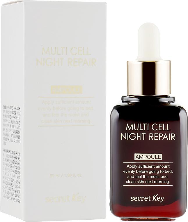 Anti-Aging Nachtserum - Secret Key Multi Cell Night Repair Ampoule