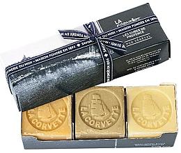 Düfte, Parfümerie und Kosmetik Seifenset - La Corvette Provence Soap Gift Box (Seife 3x100g)