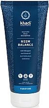Düfte, Parfümerie und Kosmetik Balancierendes Anti-Schuppen Shampoo mit Neem - Khadi Shampoo Neem Balance