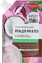 Düfte, Parfümerie und Kosmetik Nahrung Reiche Gesichts-und Körpercreme mit Rosa Tonerde und Kokosöl - Fito Kosmetik Volksrezepte