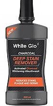 Düfte, Parfümerie und Kosmetik Aufhellende Mundspülung mit Aktivkohle - White Glo Charcoal Deep Stain Remover Mouthwash