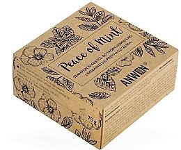Düfte, Parfümerie und Kosmetik Beruhigendes festes Haarshampoo mit Minzduft - Anwen Peace of Mint