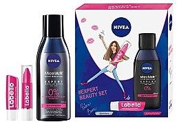 Düfte, Parfümerie und Kosmetik Gesichtspflegeset - Nivea Nivea Expert Beauty (Mizellenwasser 200ml + Lippenbalsam 3g + Lippenbalsam 4.8g)