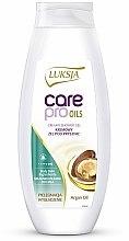 Düfte, Parfümerie und Kosmetik Creme-Duschgel mit Arganöl - Luksja Care Pro Oils Creamy Shower Gel