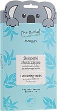 Düfte, Parfümerie und Kosmetik Exfolierende Fußmaske-Socken - Marion Dr Koala Exfoliating Socks