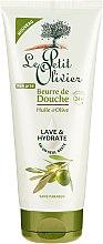 Düfte, Parfümerie und Kosmetik Feuchtigkeitsspendendes Duschöl mit Olive - Le Petit Olivier Shower Butter Olive Oil