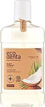 Düfte, Parfümerie und Kosmetik Mundwasser mit Kokosnuss, Aloe Vera und Pfefferminzöl - Ecodenta Cosmos Organic Minty Coconut