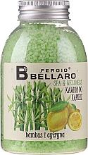 Düfte, Parfümerie und Kosmetik Entspannendes Badekaviar Bambus und Zitrone - Fergio Bellaro Bamboo and Lemon Bath Caviar