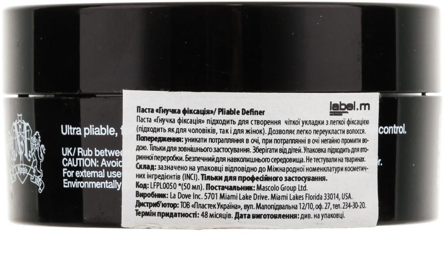 Haarstylingpaste Flexibler Halt - Label.m Pliable Definer — Bild N2