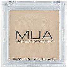 Düfte, Parfümerie und Kosmetik Transparenter gepresster Gesichtspuder - MUA Translucent Pressed Powder