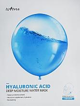Düfte, Parfümerie und Kosmetik Feuchtigkeitsspendende Tuchmaske mit Hyaluronsäure - Isntree Hyaluronic Acid Deep Moisture Water Mask