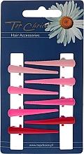 Düfte, Parfümerie und Kosmetik Haarspangen 24955 rosa, rot 8 St. - Top Choice