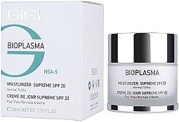 Düfte, Parfümerie und Kosmetik Feuchtigkeitscreme für trockene Haut - Gigi Bioplasma Moist Dry SPF-20