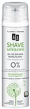 Düfte, Parfümerie und Kosmetik Feuchtigkeitsspendendes Rasiergel mit Aloe und Sheabutter - AA Shave Safe&Care