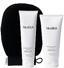 Düfte, Parfümerie und Kosmetik Körperpflegeset - Medik8 Smooth Body Exfoliating Kit (Körperpeeling 150ml + Körperlotion 200ml + Handschuh)