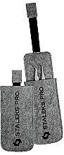 Düfte, Parfümerie und Kosmetik Filzbehälter für Pinzetten - Staleks Felt Tweezers Case