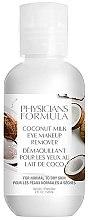 Düfte, Parfümerie und Kosmetik Augen-Make-up Entferner mit Kokosnussmilch für normale bis trockene Haut - Physicians Formula Coconut Milk Eye Makeup Remover