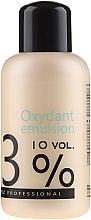 Düfte, Parfümerie und Kosmetik Wasserstoffperoxid mit cremiger Konsistenz 3% - Stapiz Professional Oxydant Emulsion 10 Vol