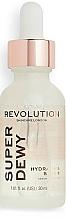 Düfte, Parfümerie und Kosmetik Feuchtigkeitsspendendes Gesichtsserum mit Glucosamin - Revolution Skincare Superdewy Hydrating Serum