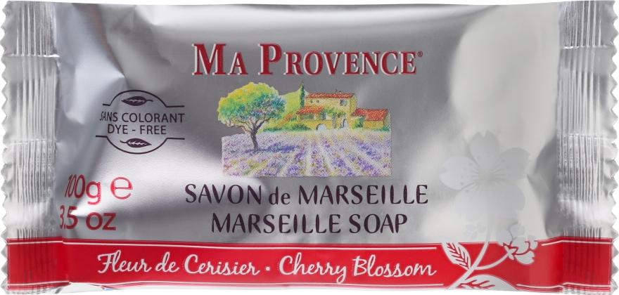 Marseiller Seife mit Kirschblüten - Ma Provence Marseille Soap Cherry Blossom