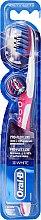 Düfte, Parfümerie und Kosmetik Zahnbürste mittel Pro-Flex Luxe 3D White rosa-weiß - Oral-B Proflex 3D White Luxe 38 Medium