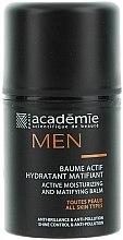 Düfte, Parfümerie und Kosmetik Feuchtigkeitsspendender und mattierender Aktiv-Balsam - Academie Men Active Moist & Matifying Balm