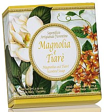 Düfte, Parfümerie und Kosmetik Naturseife Magnolia & Tiare - Saponificio Artigianale Fiorentino Magnolia & Tiare Soap