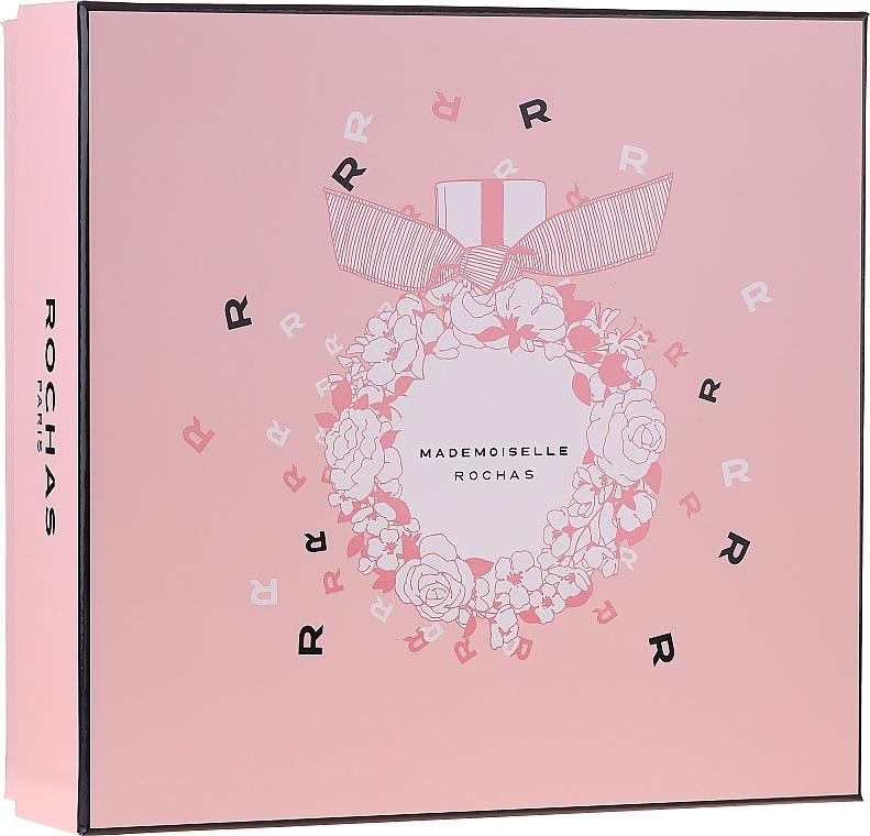Rochas Mademoiselle Rochas - Duftset (Eau de Parfum 50ml + Körperlotion 50ml + Duschgel 50ml)