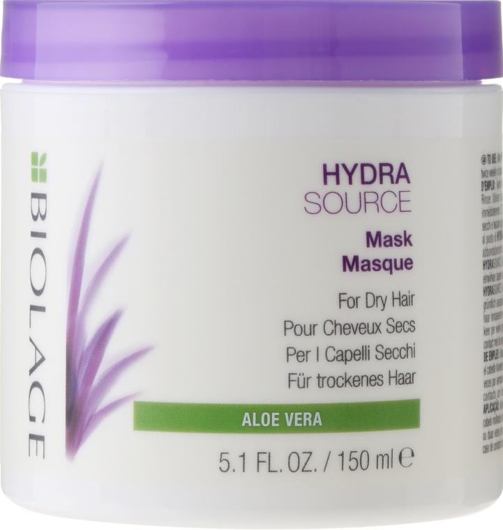 Feuchtigkeitsspendende Haarmaske für trockene Haut - Biolage Hydrasource Mask For Dry Hair — Bild N1