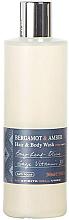 Düfte, Parfümerie und Kosmetik Bath House Bergamot & Amber - Duschgel Bergamotte & Amber