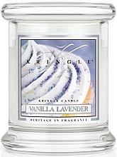Düfte, Parfümerie und Kosmetik Duftkerze im Glas Vanilla Lavender - Kringle Candle Vanilla Lavender